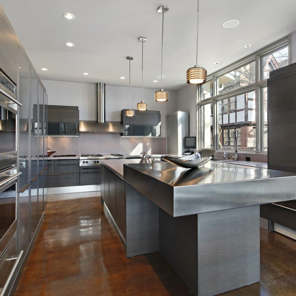 20 Beautiful Parallel Kitchen Designs For Home | Design Cafe