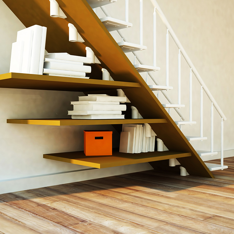 Under Stairs Storage Design Ideas For Small Spaces