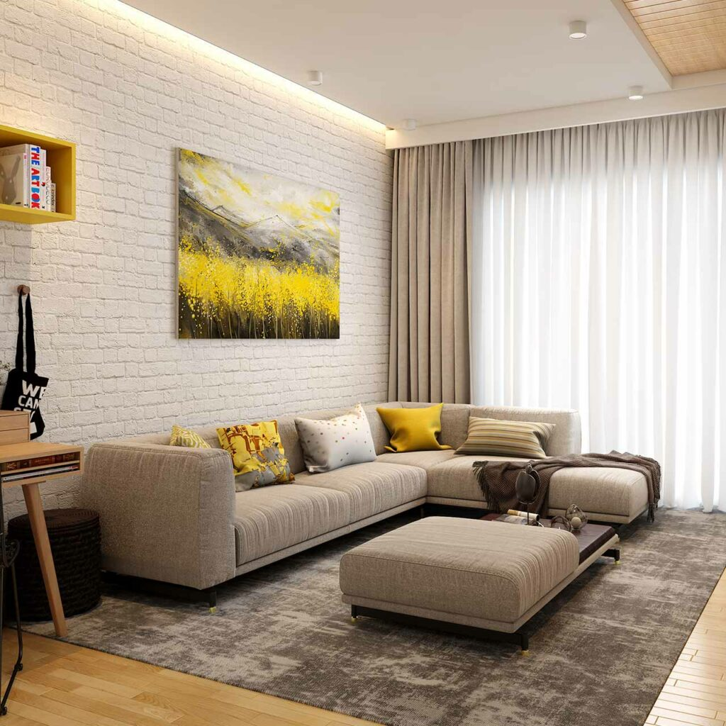 Pop ceiling design for your living room by using pop ceiling material