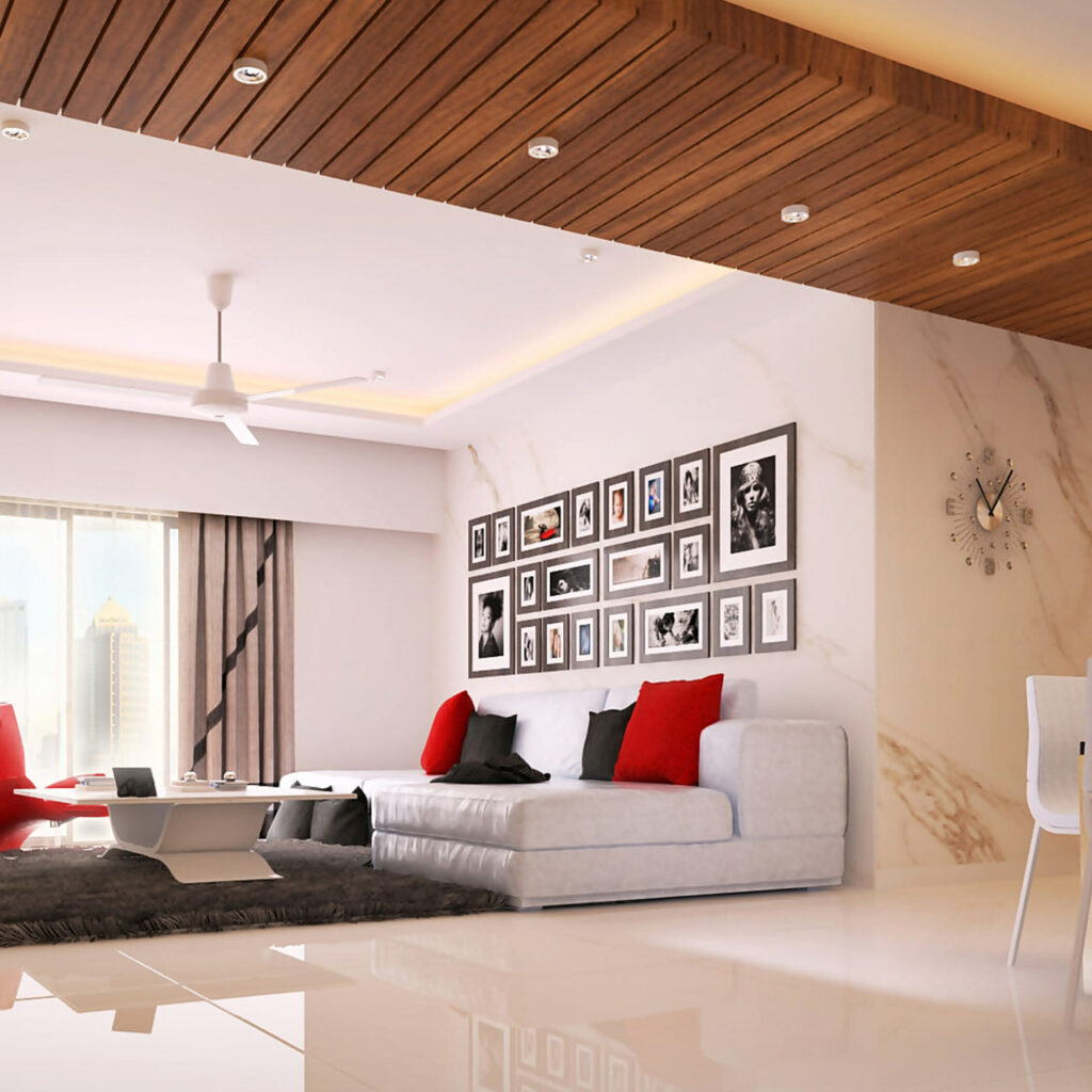 False ceiling design for room with a infuse architectural elements to make perfect living room false ceiling design