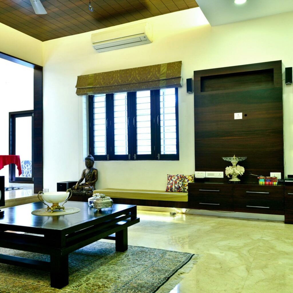Best ceiling design living room is to select the right colours for living room false ceiling design