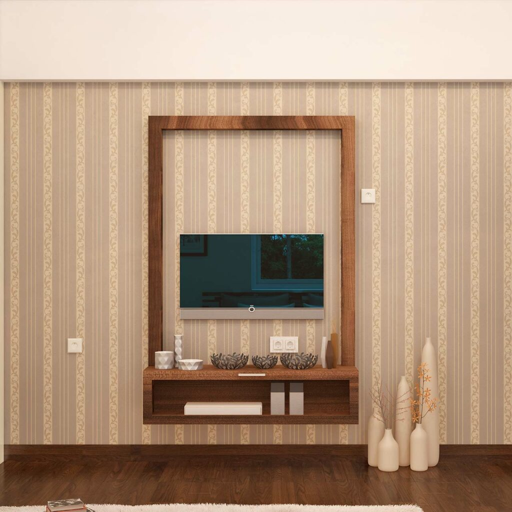 TV cabinet for bedroom design with a wooden tv cabinet for contemporary style