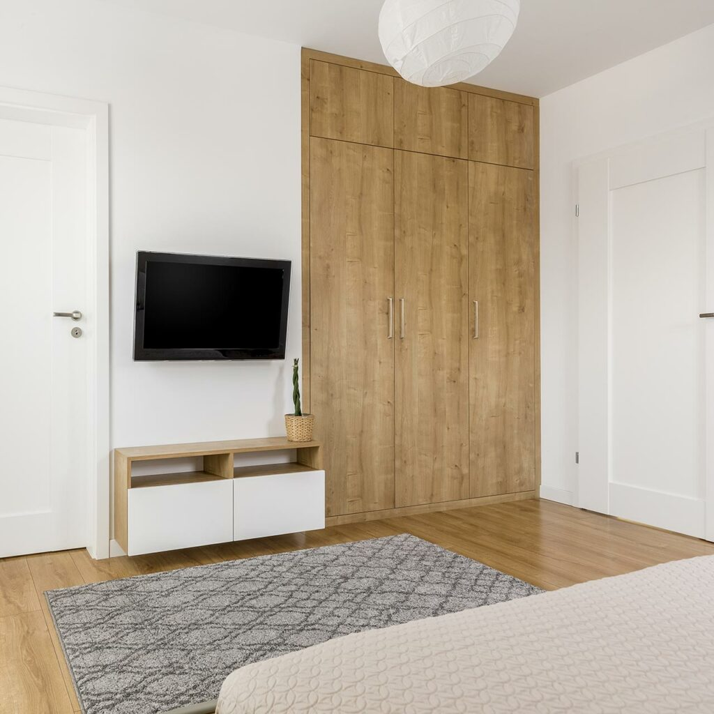 Tv wall stand for lcd tv screen on your wall beside the cabinets with tv wall unit images