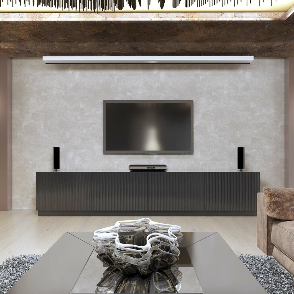 Glass Tv Unit Design For Living Room, Glass Units Brighten Up Spaces.