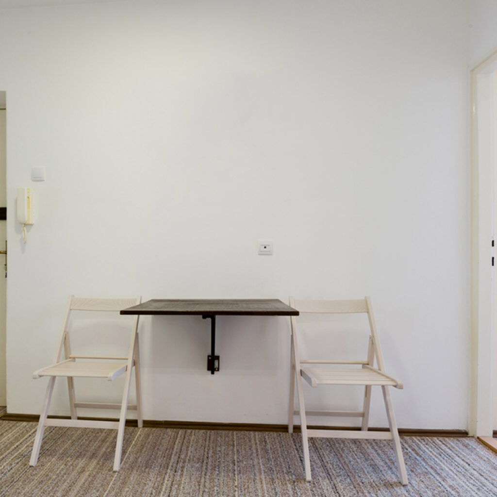 Wall Mounted Dining Tables Are Foldable Tables That Can Be Lifted Up To The Wall When Not In Use