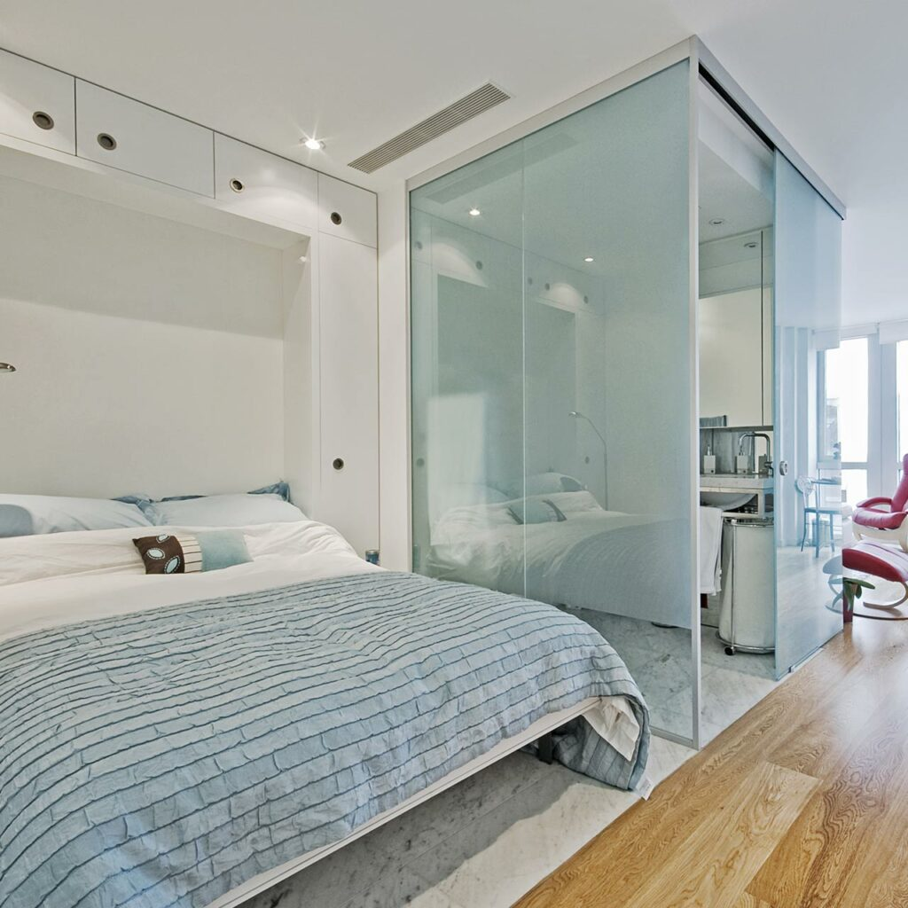 Innovative Space Saving Folding Bed Wall Bed Unit