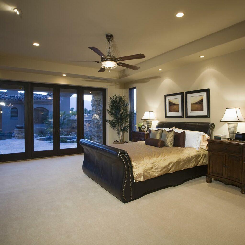 Recessed Lighting Design For Bedroom False Ceiling