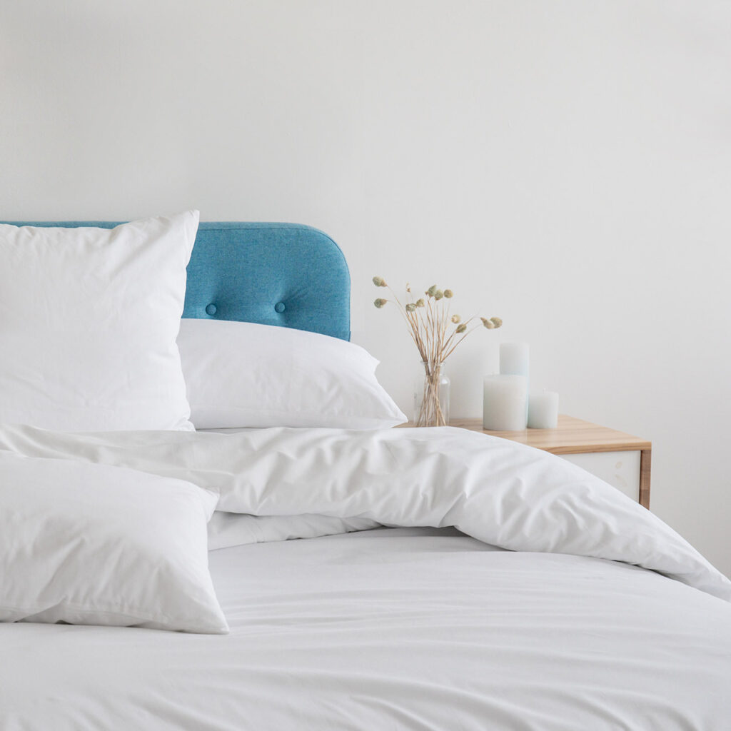 Bring In Feather Soft Sheets To Make Bedroom Feel Like a Luxury Hotel Room