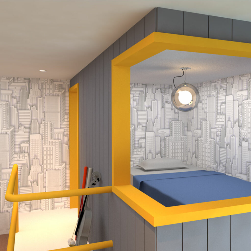 Quirky Patterns Head Turning Fixtures Bold Colours And Dramatic Textures For Small Bedroom