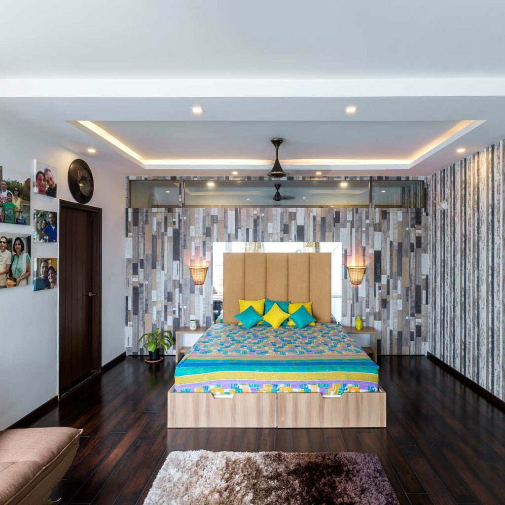 Be Clever With Colours For Small Bedroom