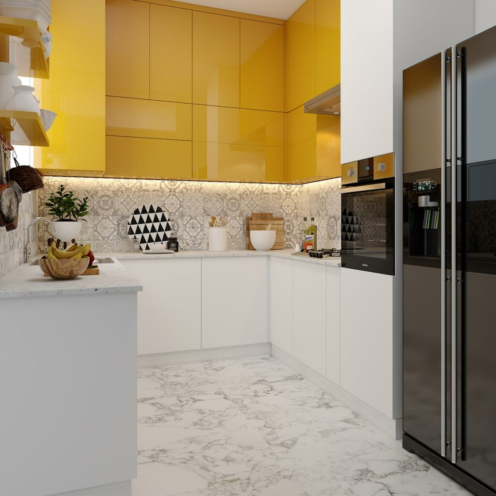 Kitchen Wall Color With Yellow