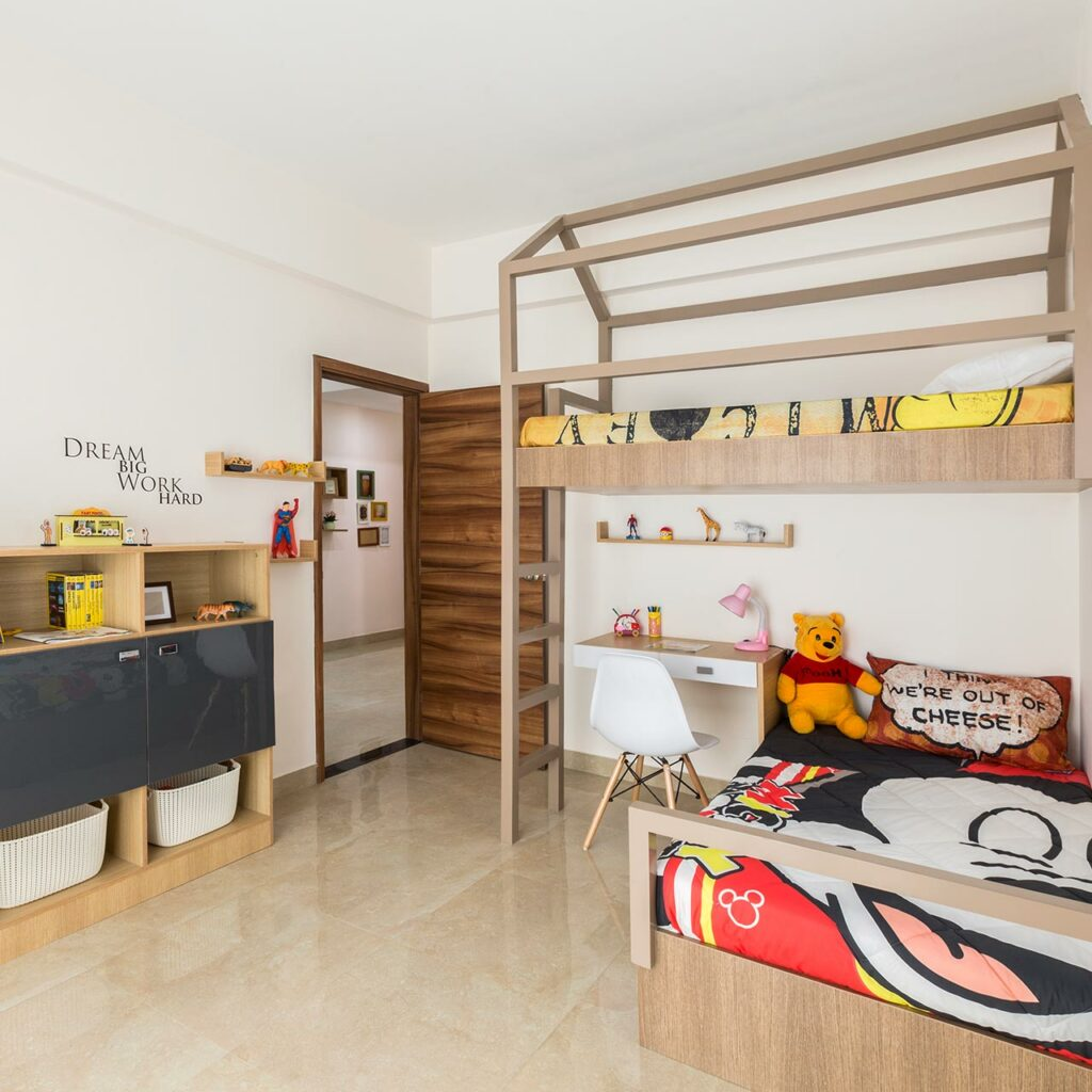 Design your Kids Bedroom with Toys