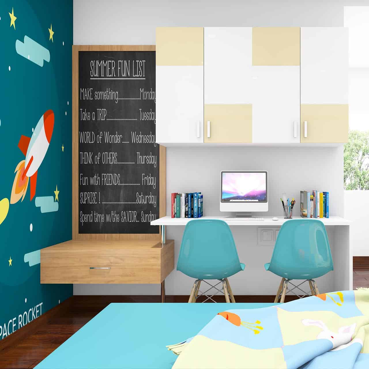 Infuse their Likes Passions for Kids Bedroom