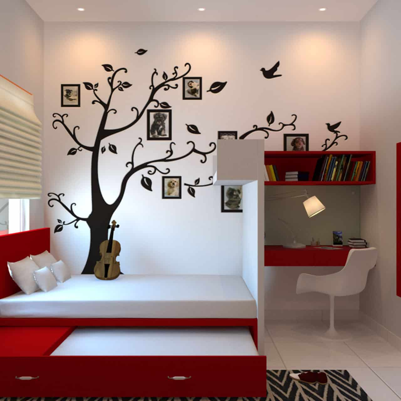 Infuse Learning into the Space for Kids Bedroom