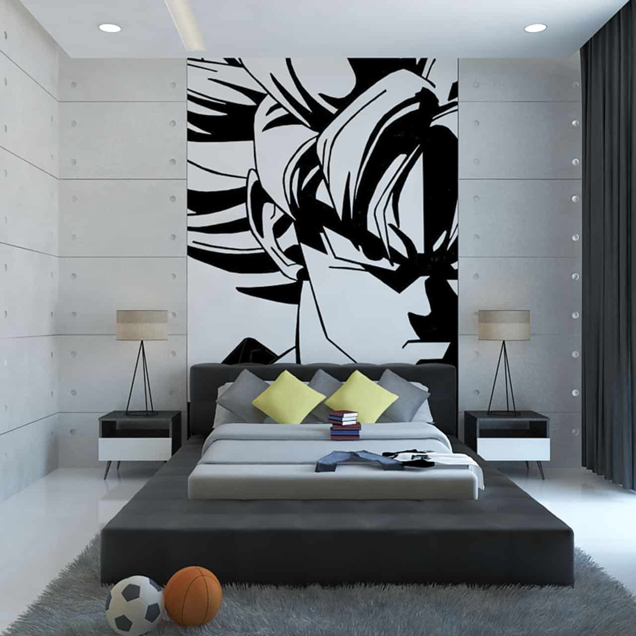 Using Artwork as Wall Decor for Kids Bedroom