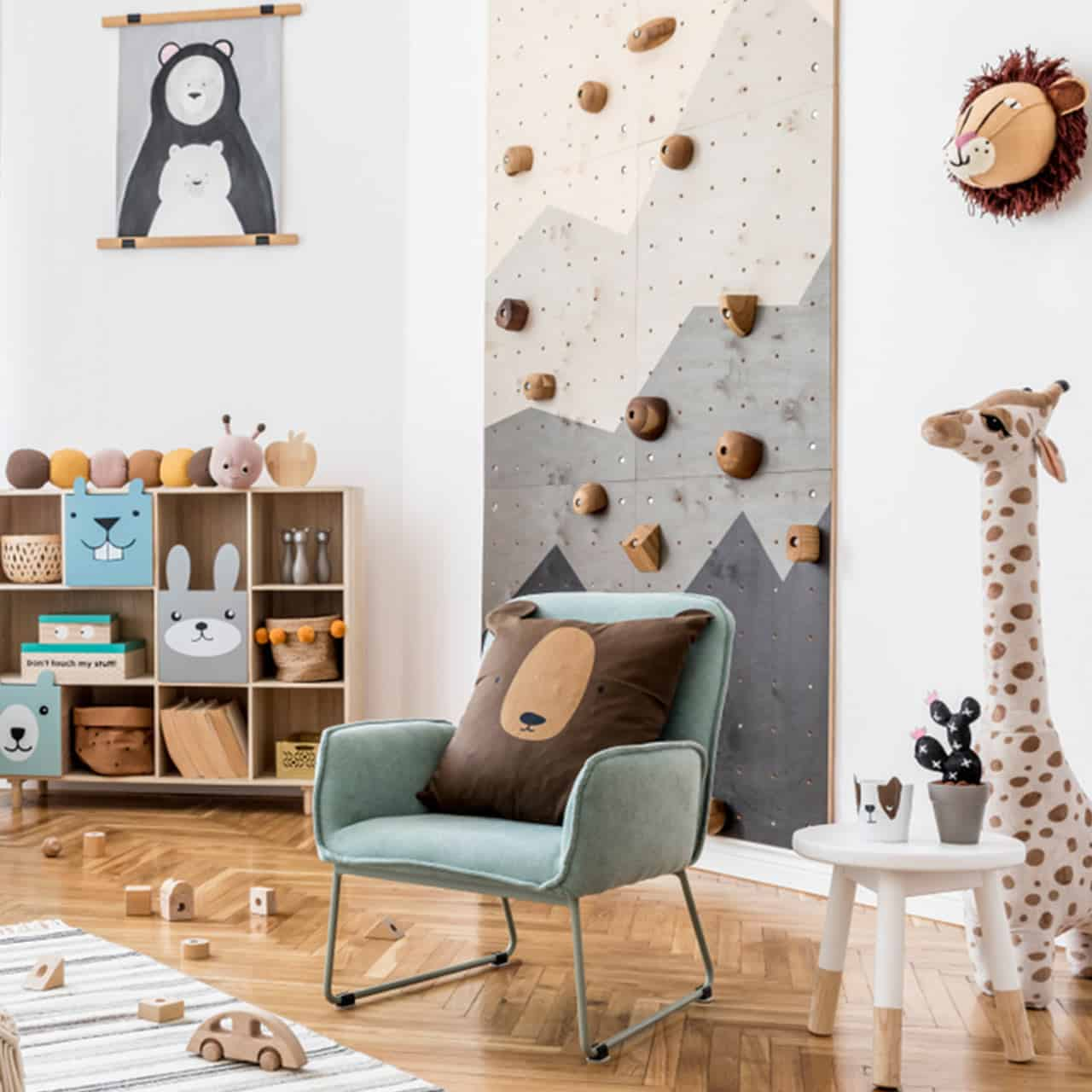 Create Activity Spaces for Kids Bedroom