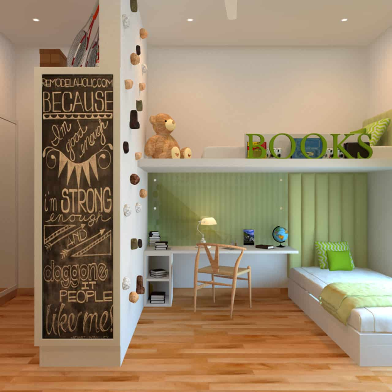 Build Plenty of Storage for Kids Bedroom