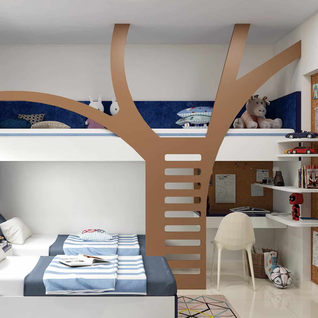 Create a Multifunctional Space for Kids Bedroom