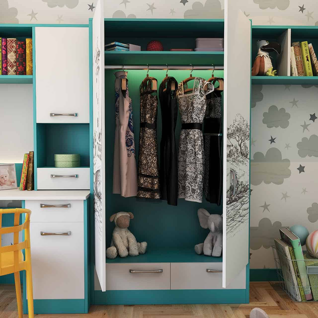Storage Components that Make Organizing a Delight