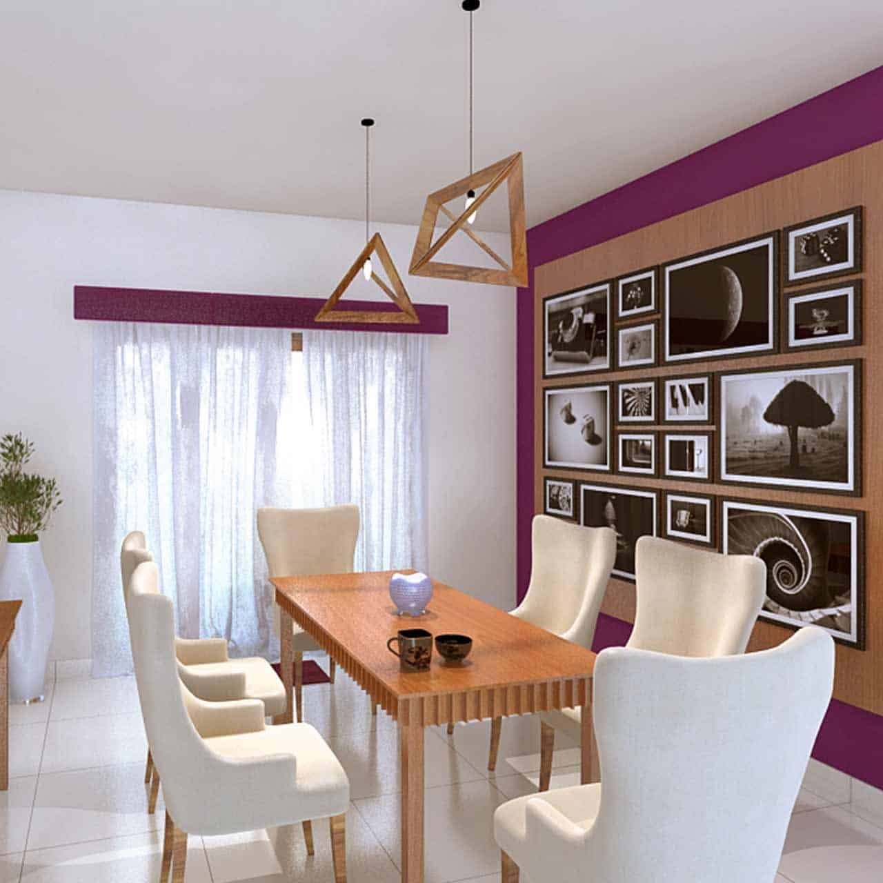 The contemporary style dining room which is a a great colour choice for modern homes with tables and chairs for dining room style