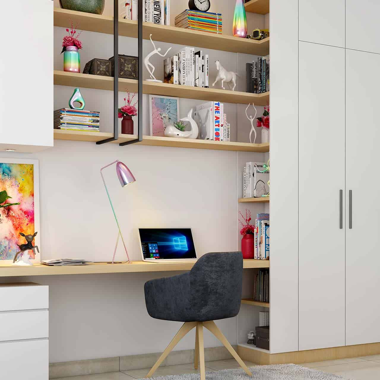 Accessories and Lighting Ideas for Study Room Design