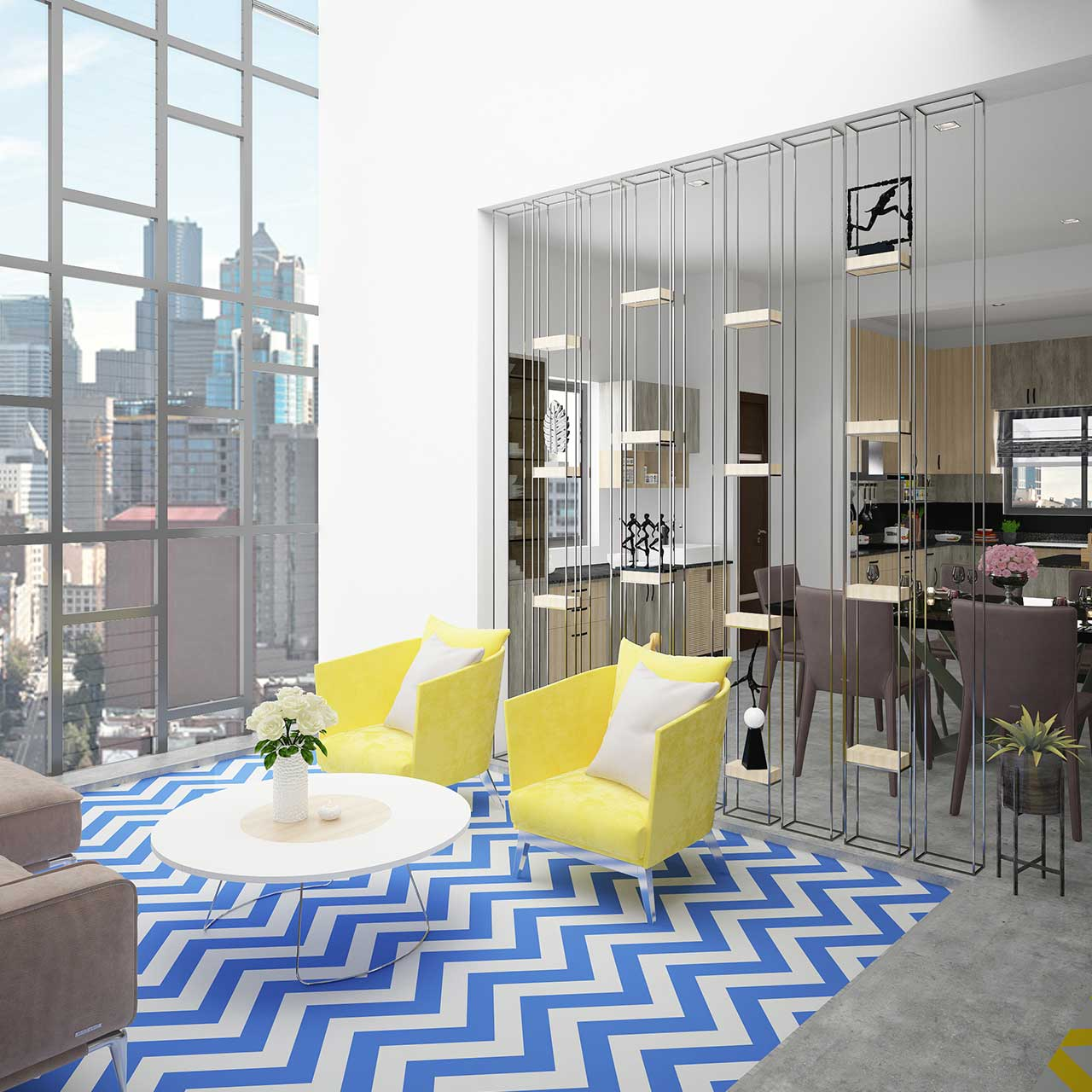 Art Deco Look for Apartment