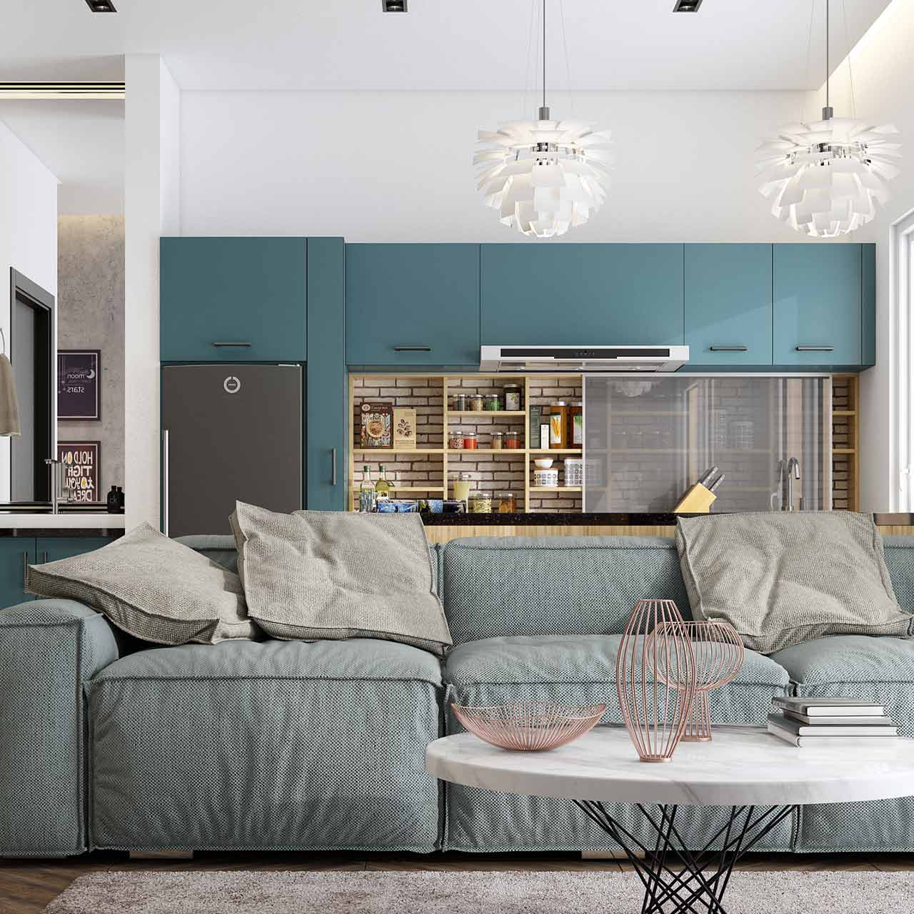 Vintage and Contemporary Style