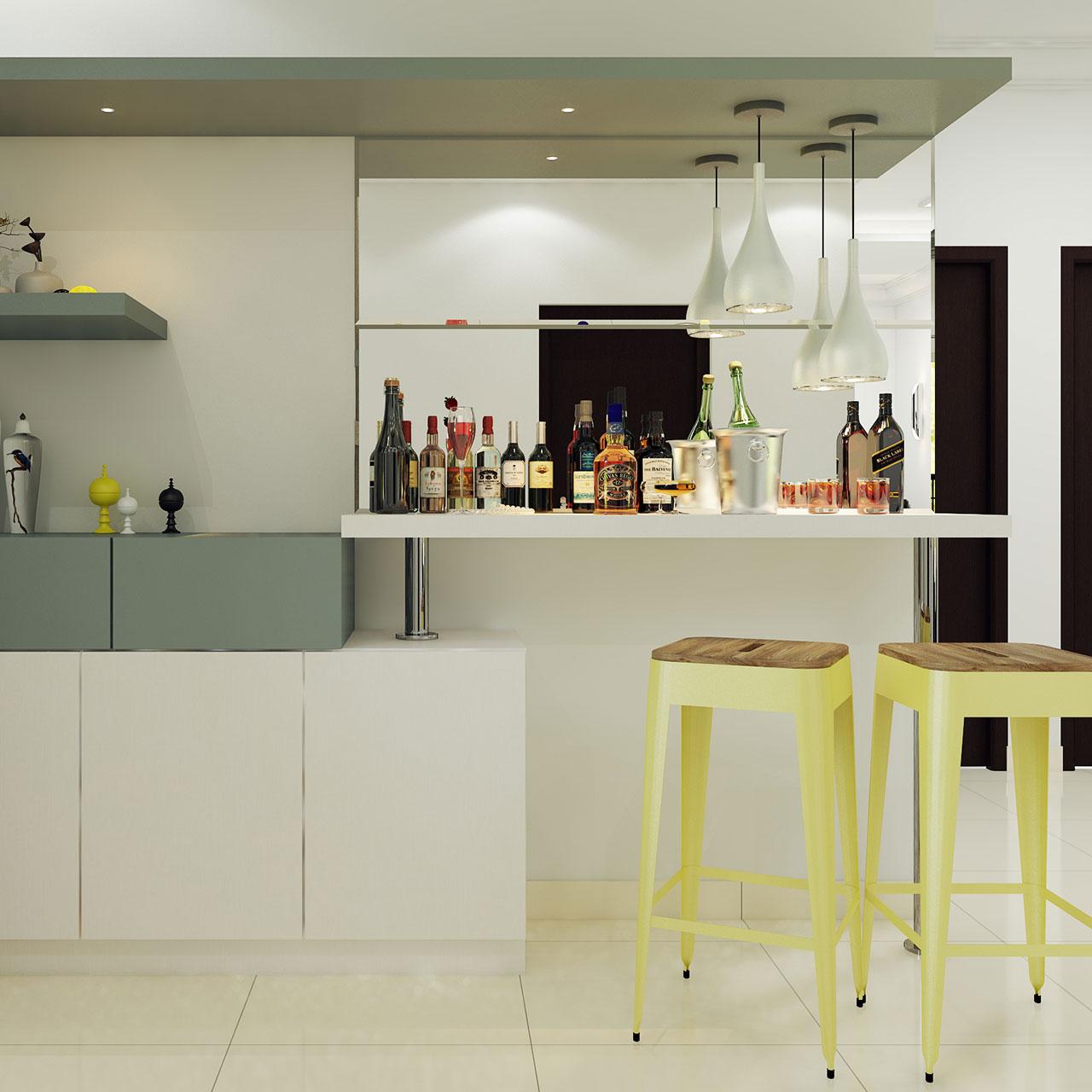 Bar Area for Villa House