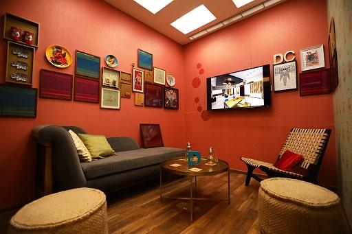 Best Living Room Interiors Experience Centre Mumbai, Interior Design Studio or Store.