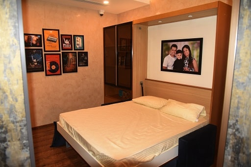 Best Bedroom Designs are available at Design Cafe Mumbai Experience Centre / Design Studio.