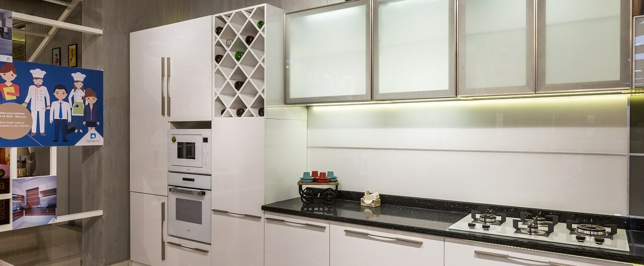 Best Modular Kitchen Designs are available at Design Cafe Bangalore Experience Centre / Design Studio.