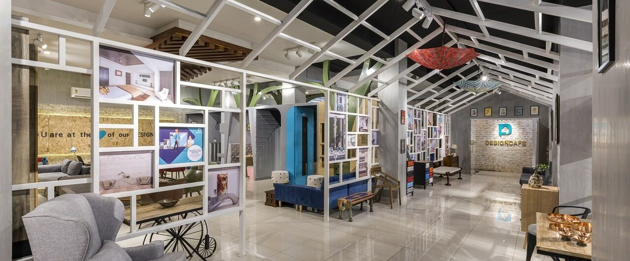 Best Home Interior Design Studio in Bangalore is Design Cafe MG Road Experience Centre.