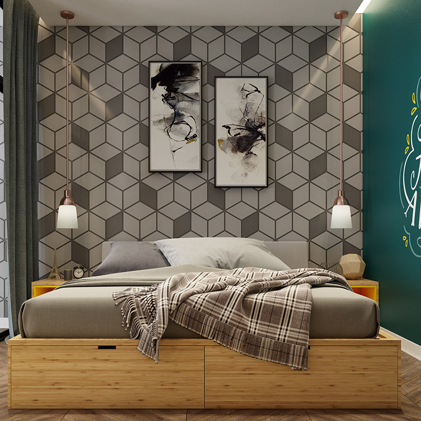 Bedroom Wall Design Ideas: 9 Latest Bedroom Wall Design Ideas