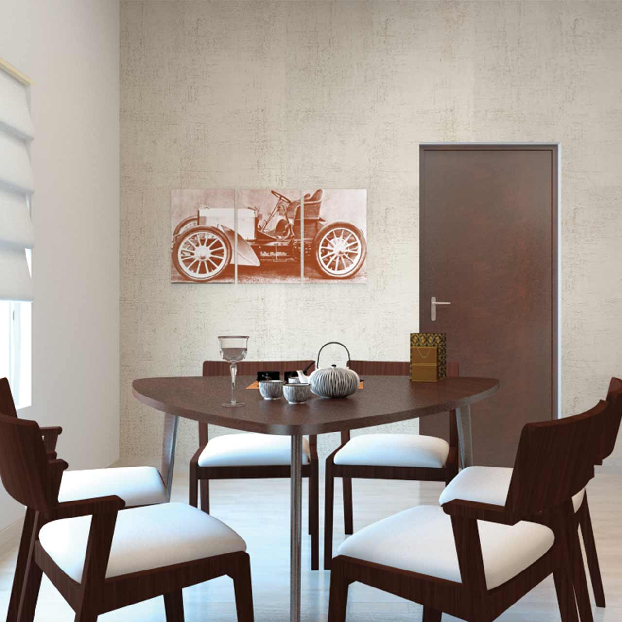 Dining tables that tell tales