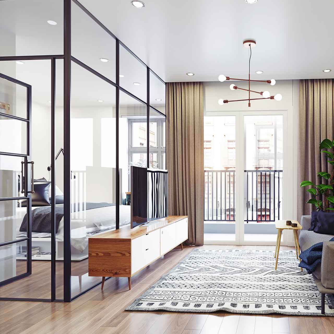 Living Room Partition
