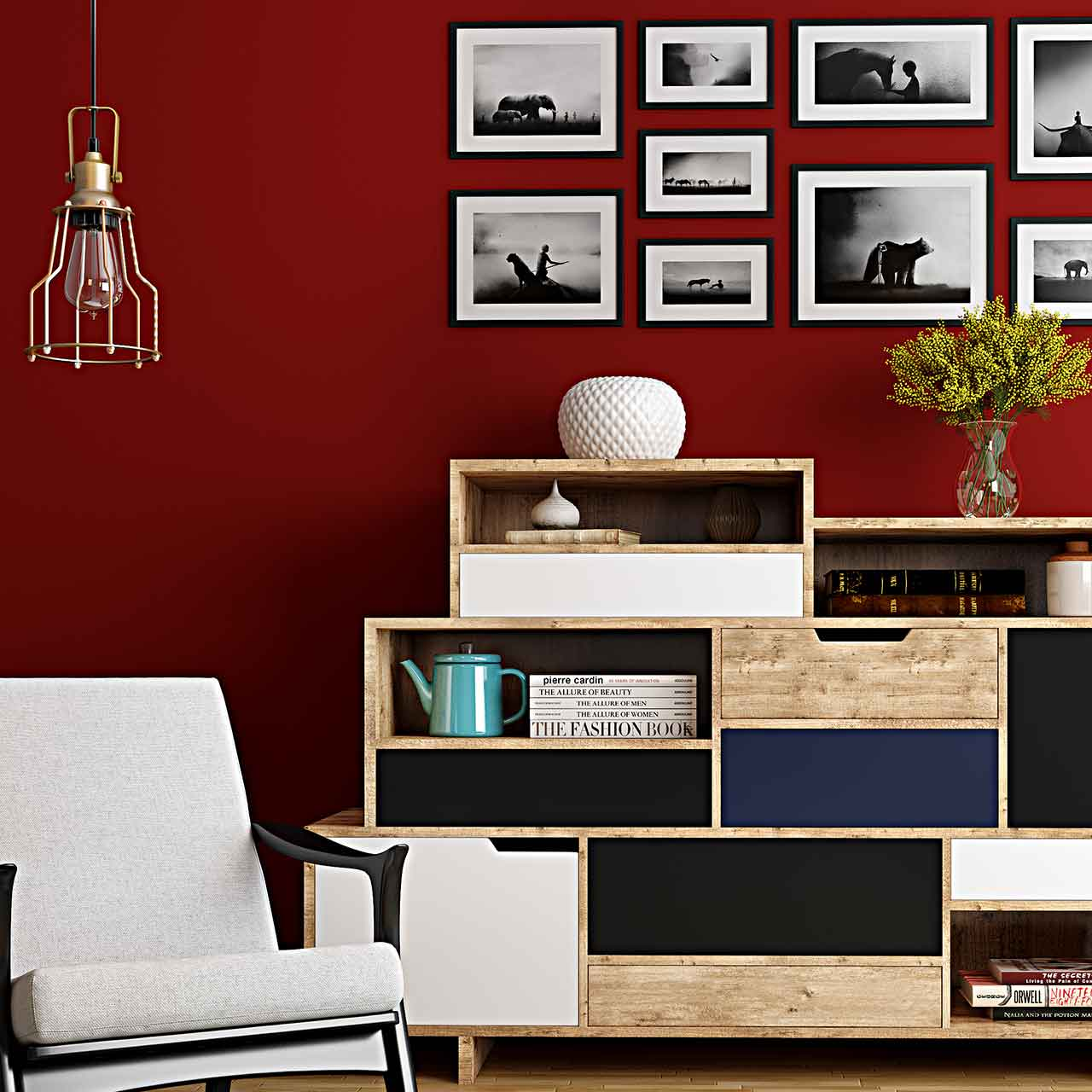 Texture Paint Designs For Living Room
