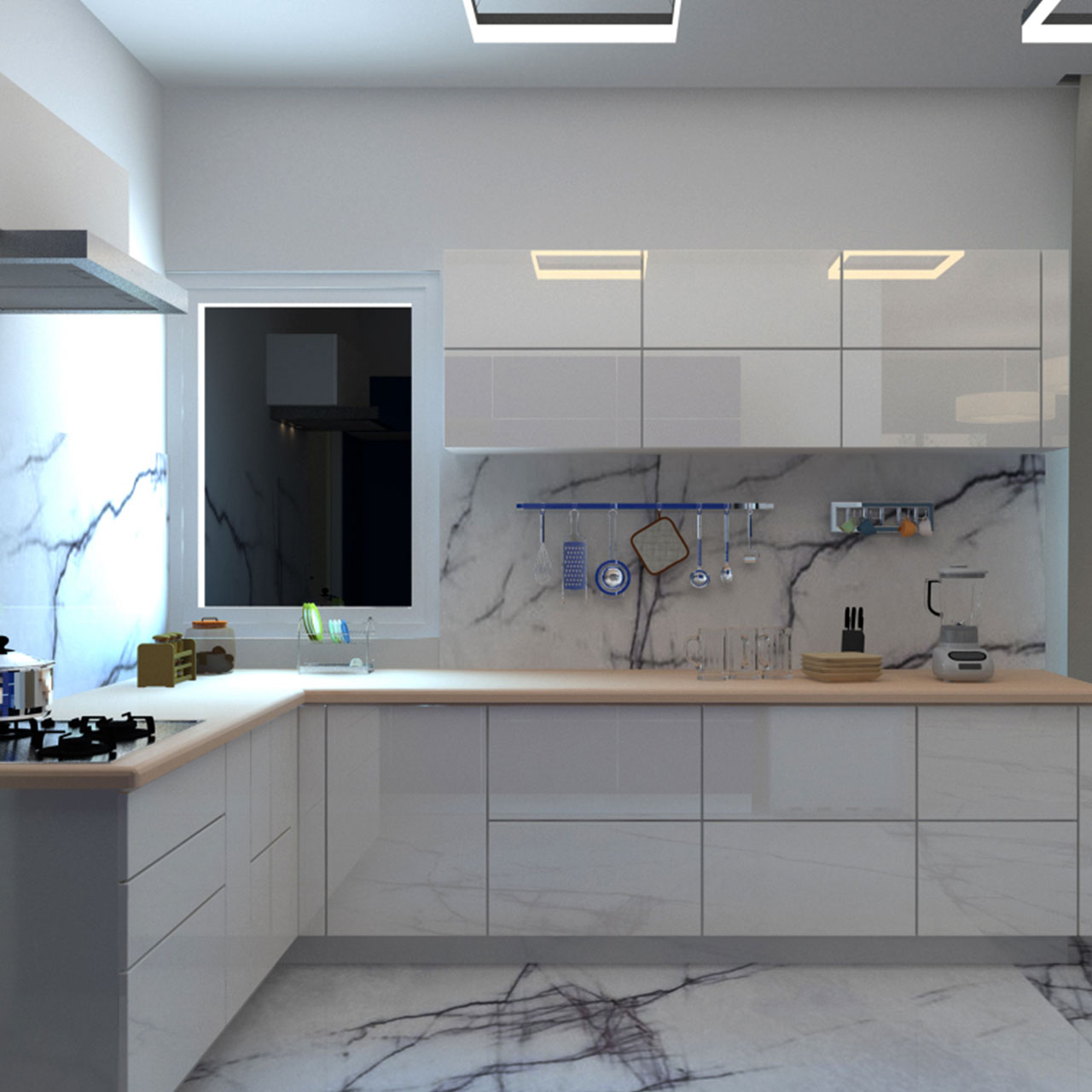 Basic Modular Kitchen Design
