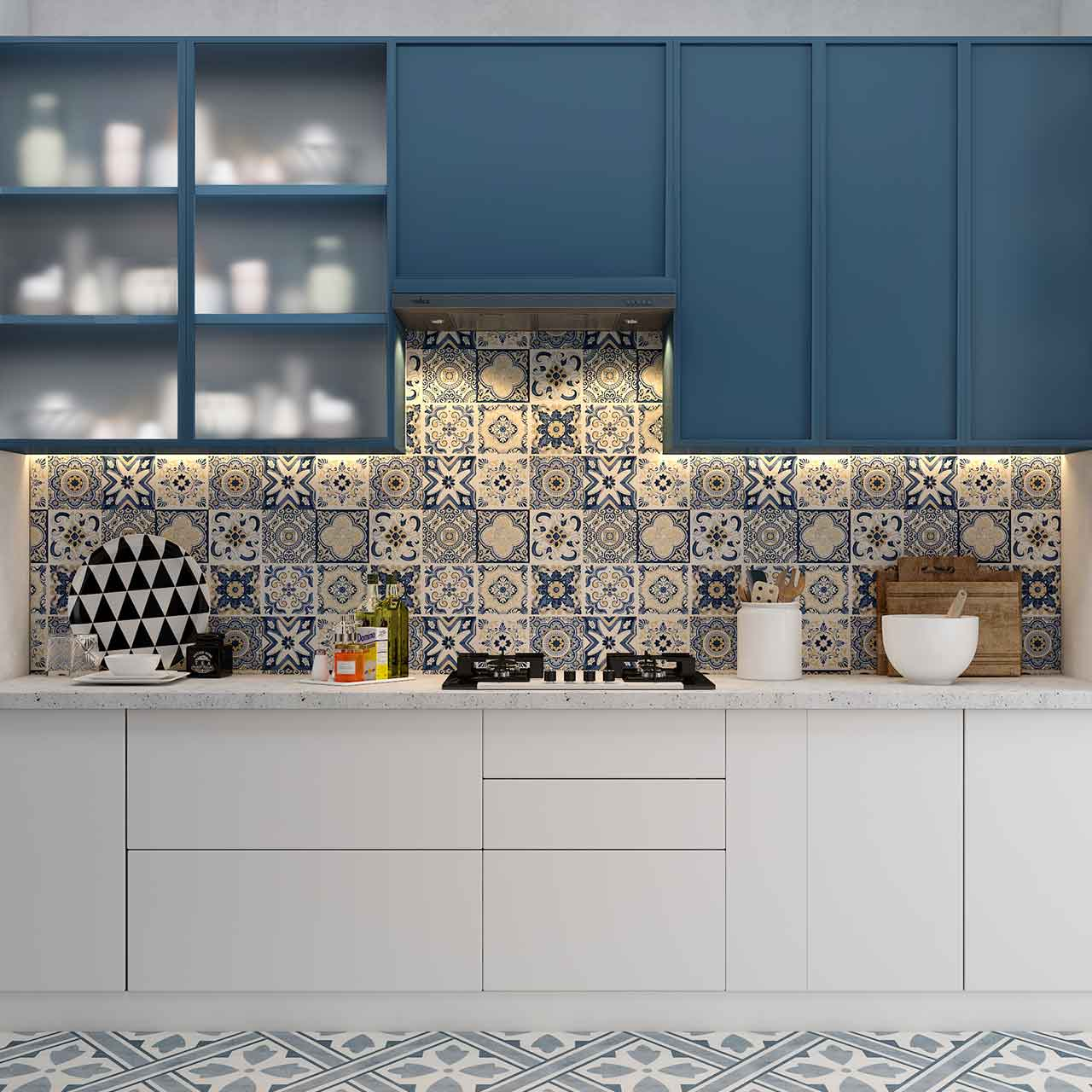 Team Up Decor With Tiles