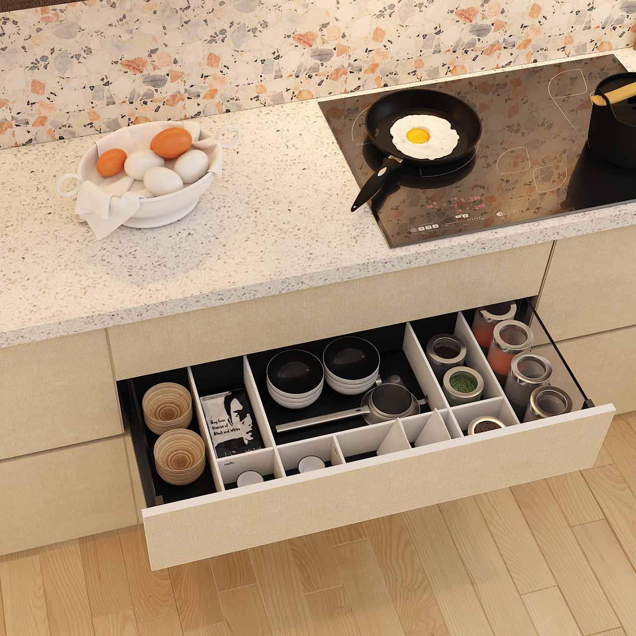 Multifunctional Furniture Modular Kitchen Design