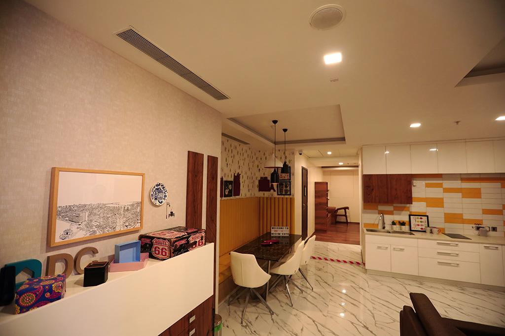 1 BHK Model Flat at Design Cafe Experience Centre Mumbai, a Home Interior Design Studio.