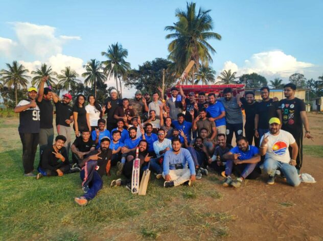 Sports Day - Cricket Tournament at Design Cafe Bengaluru