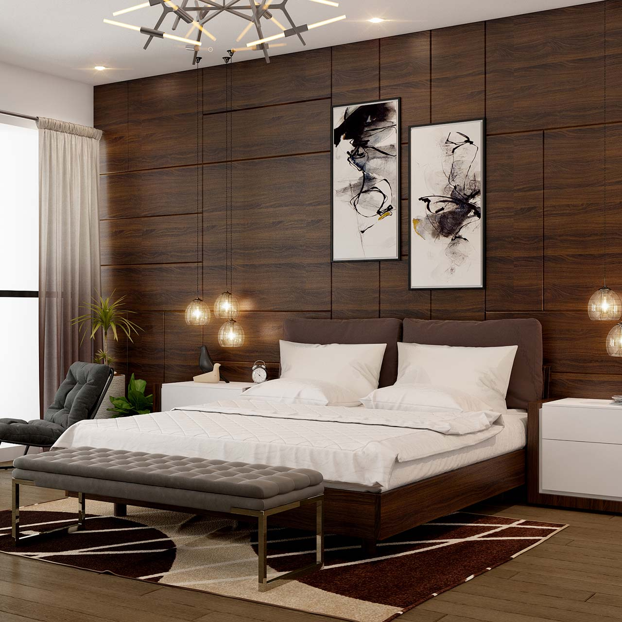 ideas to interior design your bedroom
