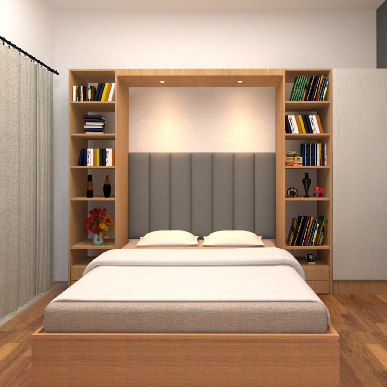 Things to consider before interior designing your bedroom accessories