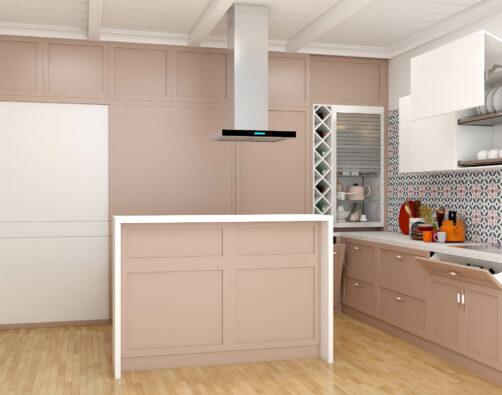 A Minimal Modular Kitchen
