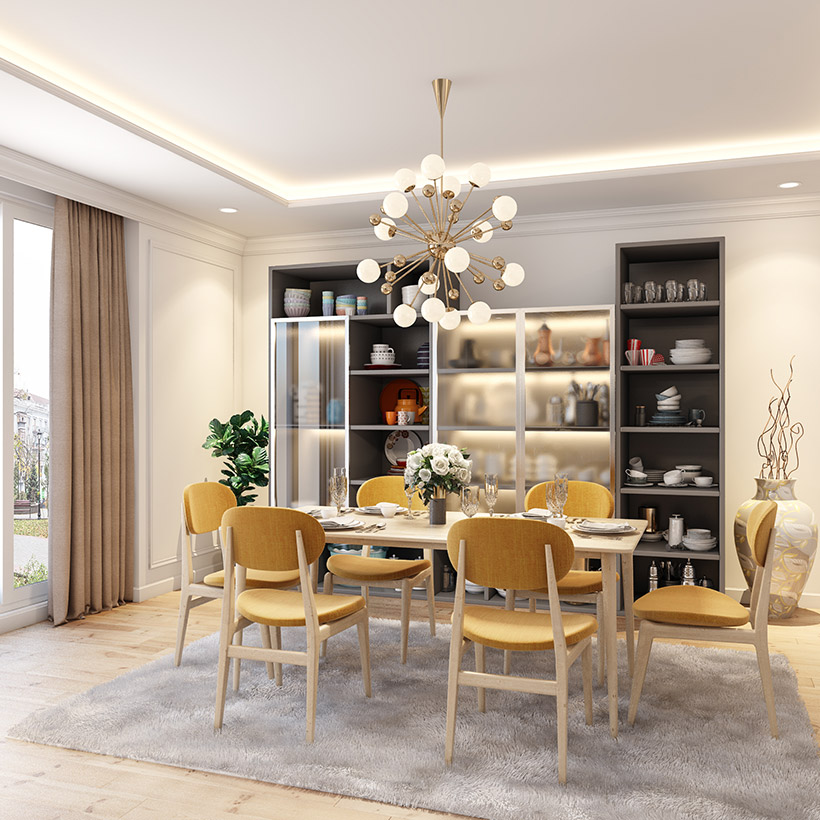 Latest Crockery Unit Designs For Dining Room | Design Cafe