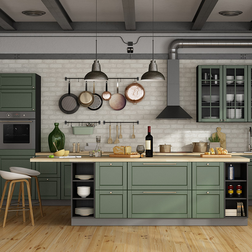 Kitchen Interior Design Ideas In Indian Apartments Interiors Home Design