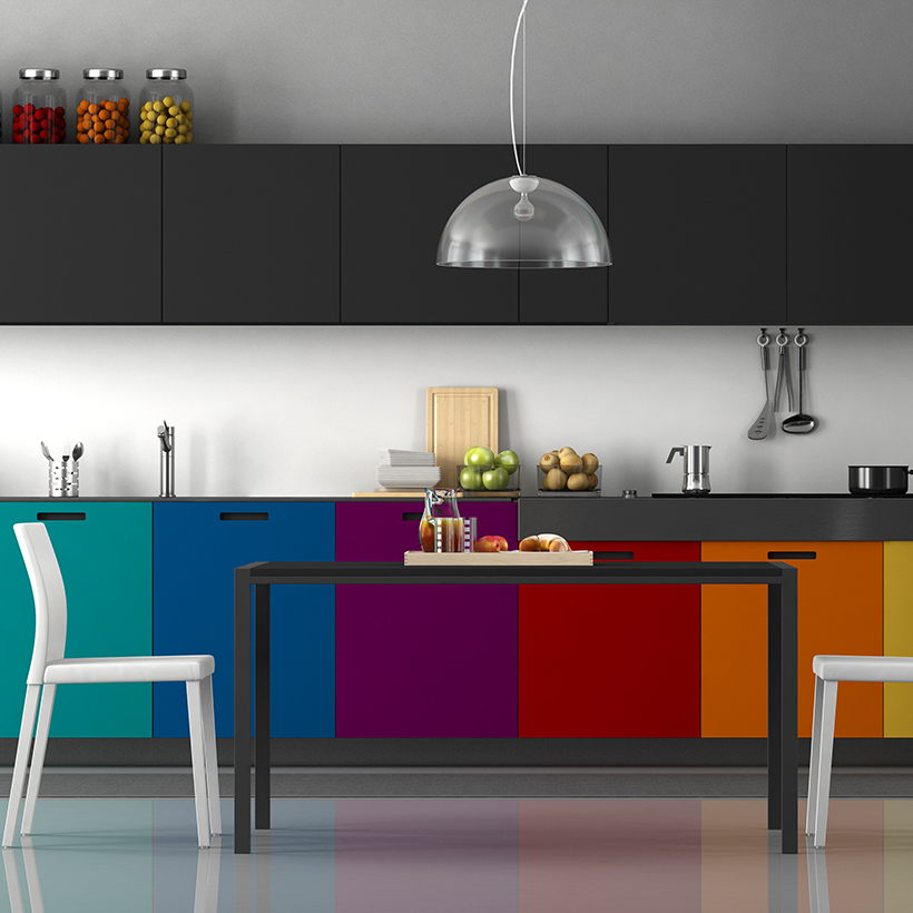 10 Kitchen Cabinet Colour Schemes Design Cafe