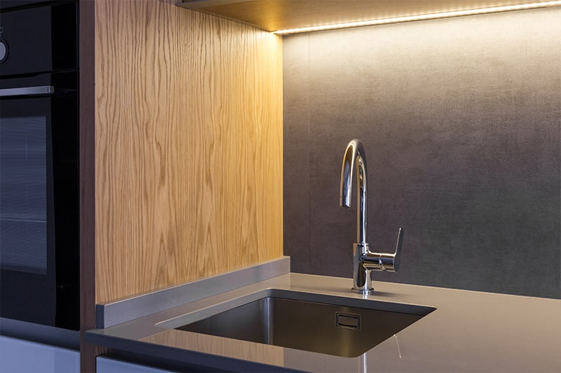 Undermount kitchen sink is one of the types of kitchen sinks and simply sweep from the countertop into the sink