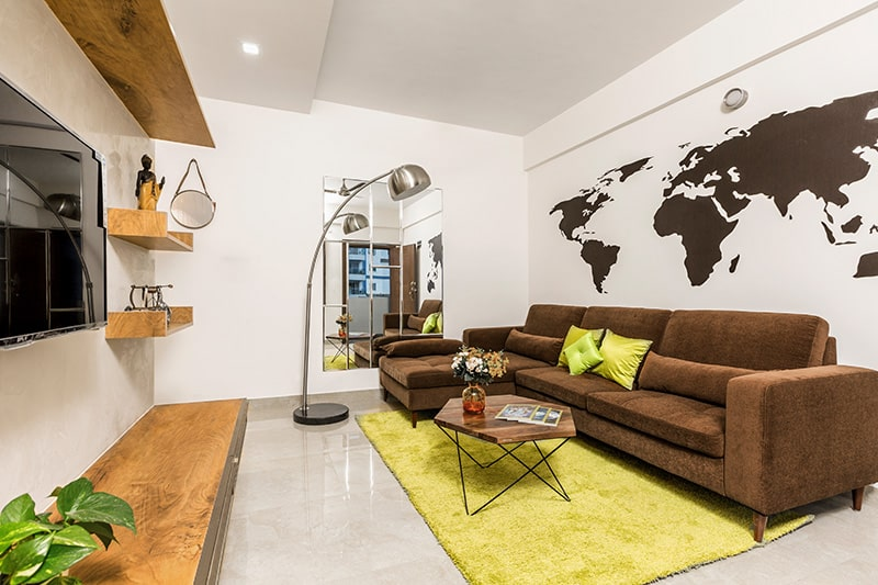 Latest l shaped sofa designs for small living room, it works like a charm in narrow living room