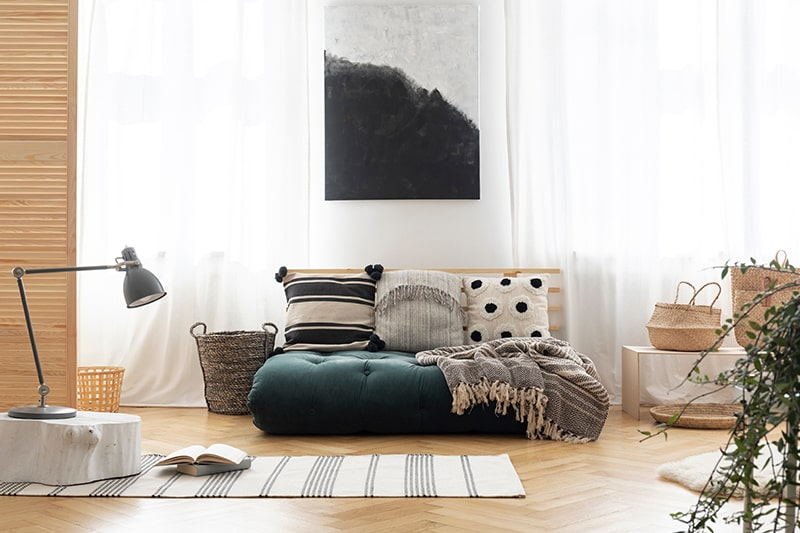Futon japanese bedding sofa design for small modern living rooms be configured with a couch for sofa designs for living room